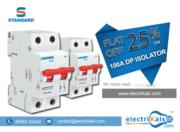 Isolator - Standard DSMIODPX100 100A 240/415V DP Isolator Online