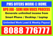 Online Jobs | Online Income Opportunity | Internet Job