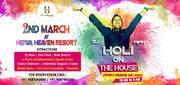Holi Celebration in Resorts near Jaipur