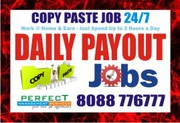 Tips to earn from Copy paste job Daily Pay | Bangalore Jobs |  Daily P