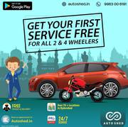 CAR REPAIR SERVICE CENTER IN JUBILEE HILLS,  HYDERABAD – AUTOSHED