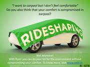 Commute App | Carpool | Rostr - Your Daily Commute Partner
