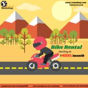 best bike rental in delhi